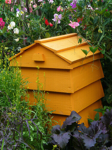 Stackable Beehive Composter Tilly S Nest