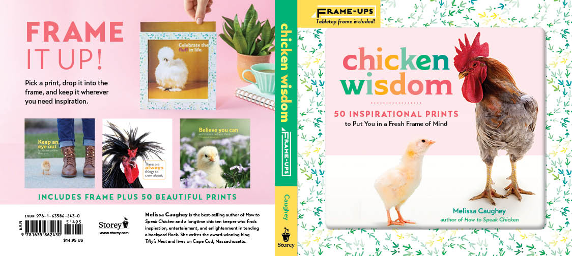 Chicken Wisdom Frame Ups- front and back cover.