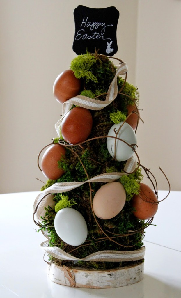 Egg topiary