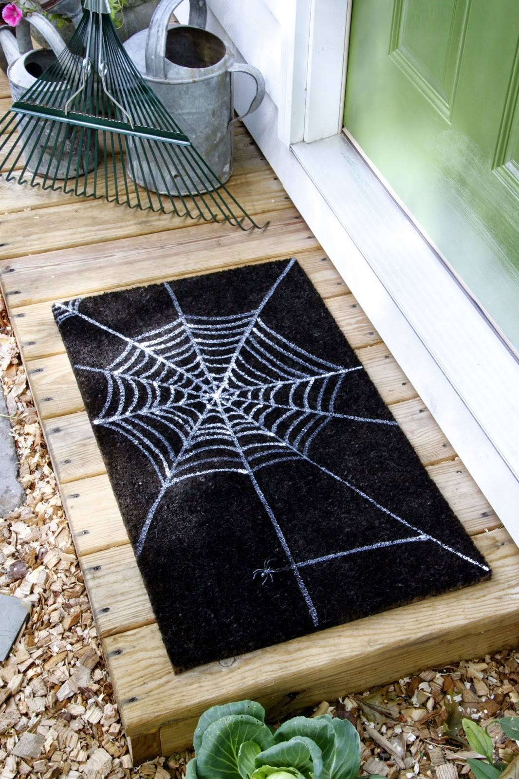 Diy Spiderweb Doormat Tilly S Nest