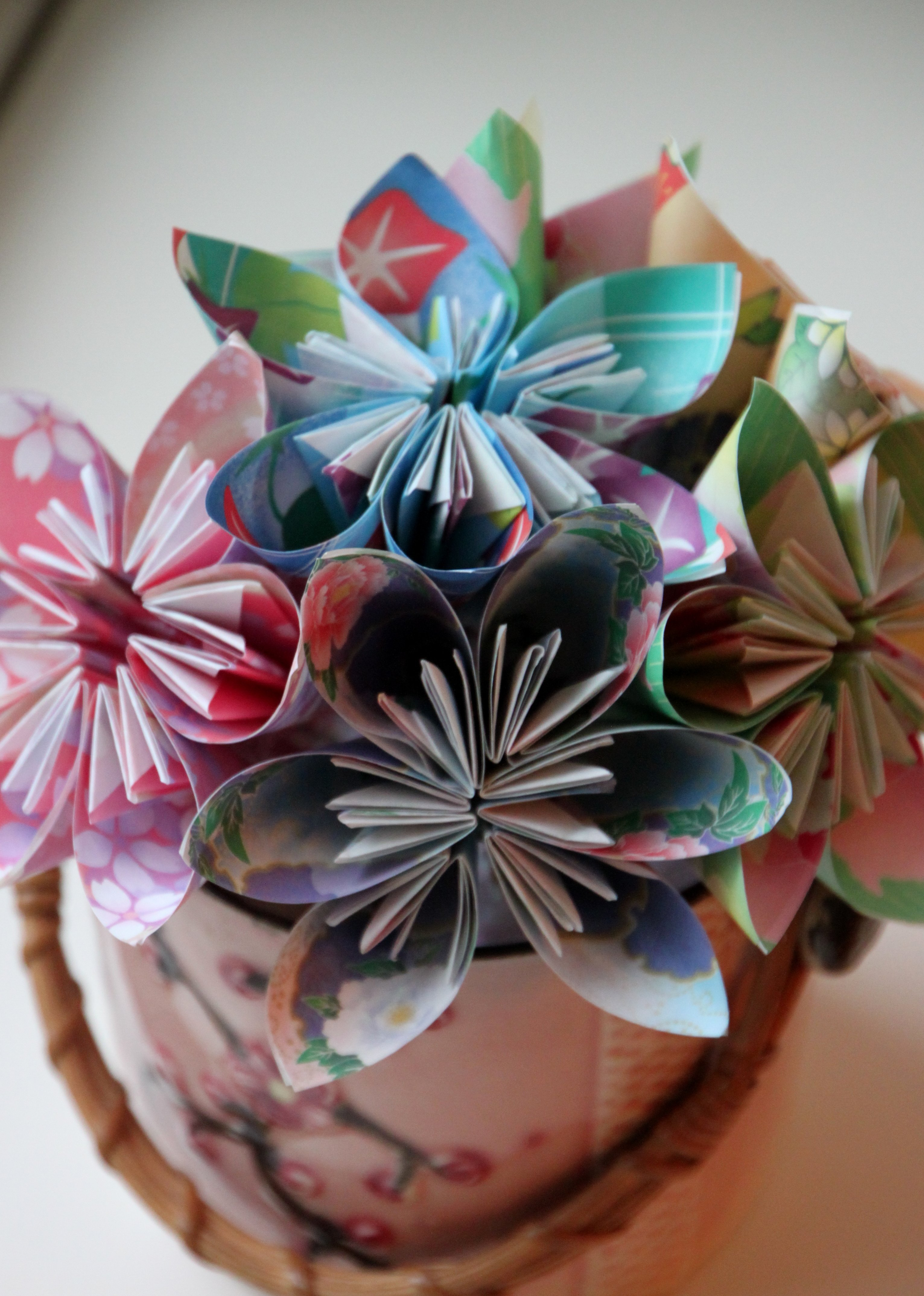 Origami Flowers | Tilly's Nest - photo#41