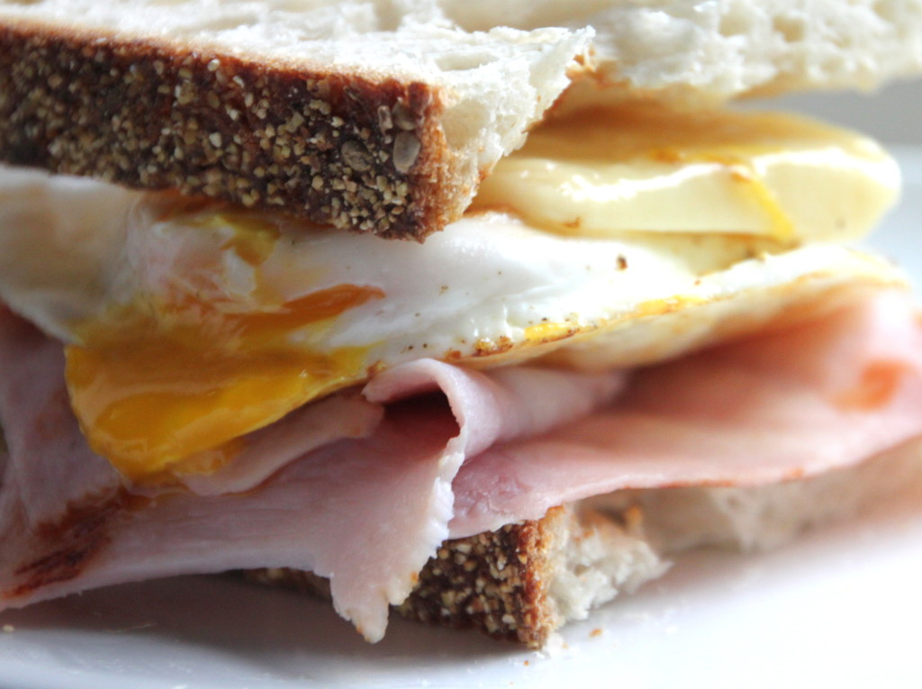 Grilled Ham Egg Amp Cheese Sandwich Tilly S Nest