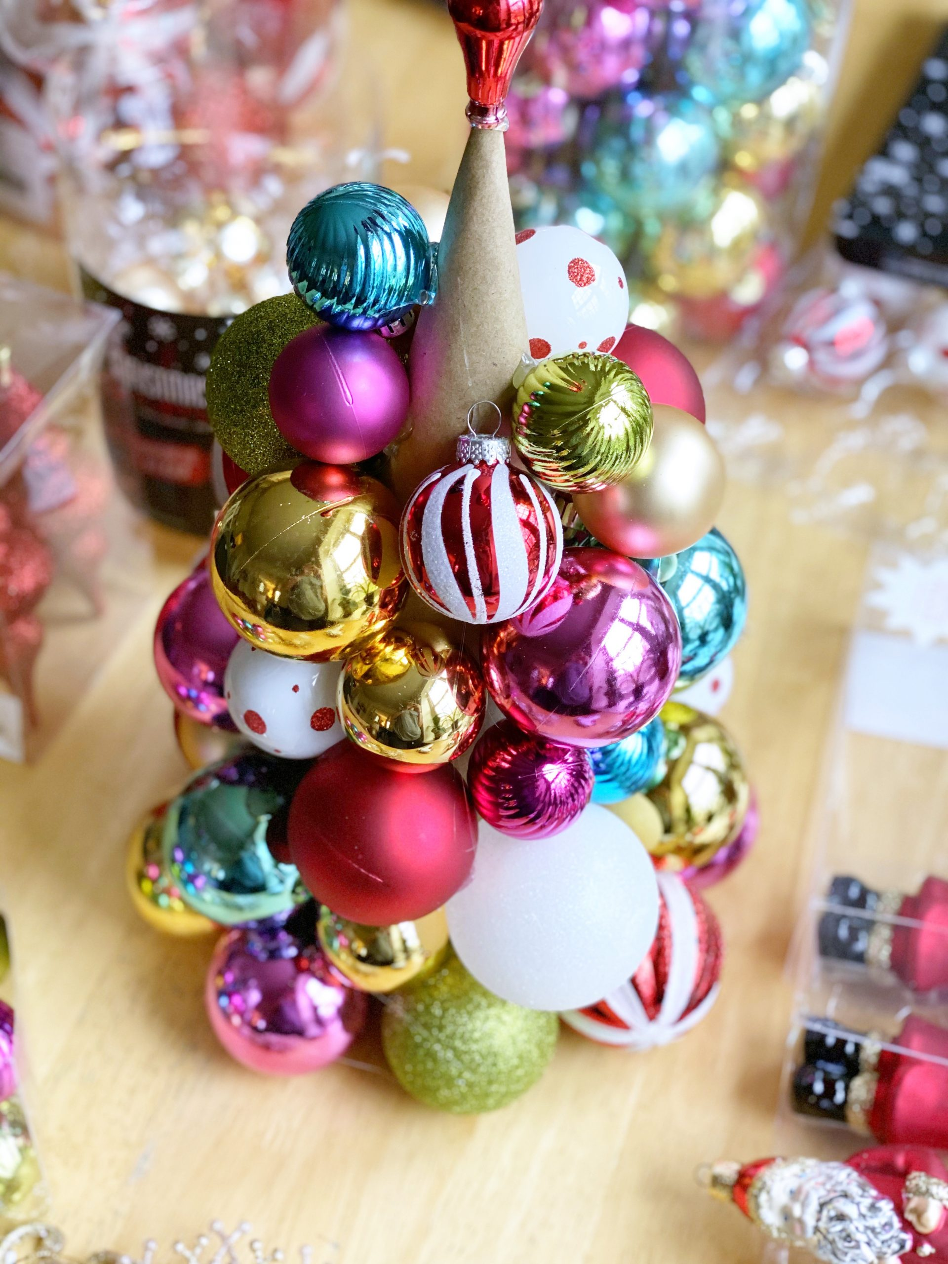 Handmade Holiday Ornament Topiary Tilly S Nest