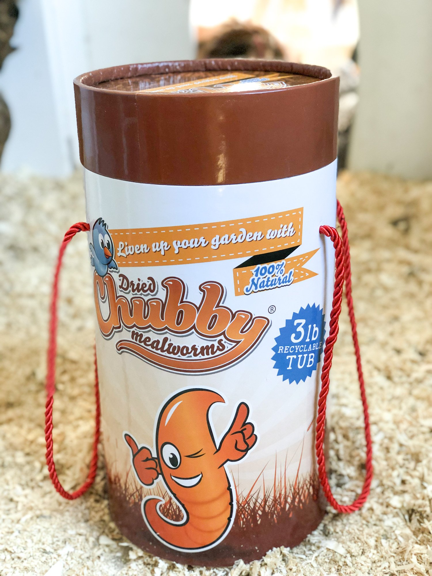 Chubby Mealworms Giveaway