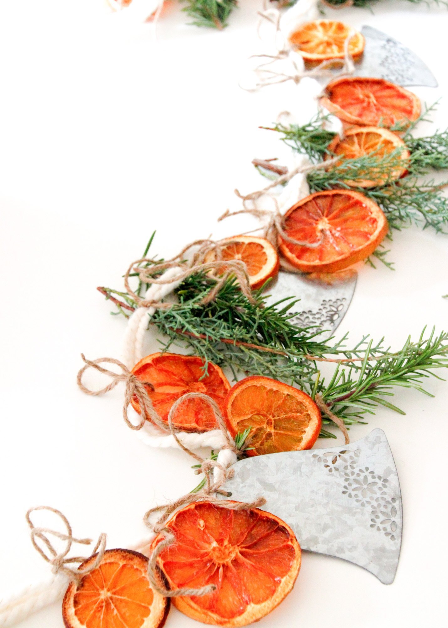 Make It A Simple Citrus And Herb Garland Tilly S Nest