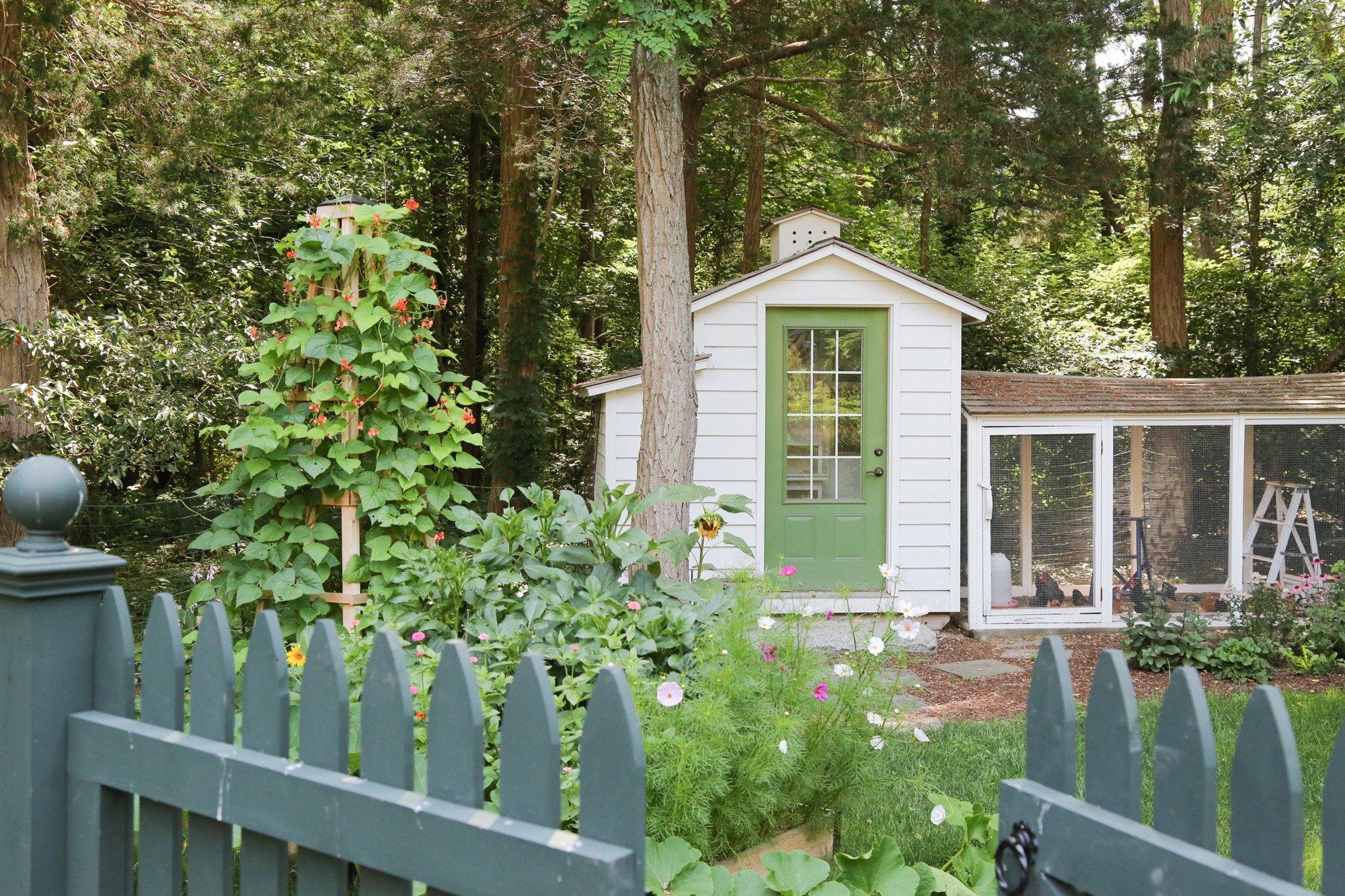 Tillys Nest- entry to vegetable garden
