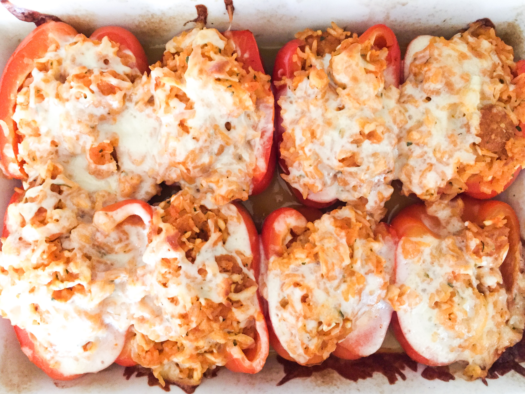 Tillys Nest- buffalo stuffed peppers