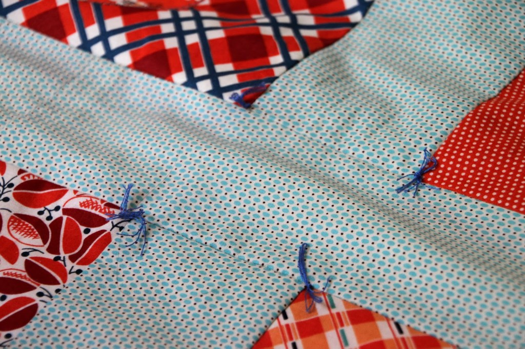 final touches of the chicken quilt part five