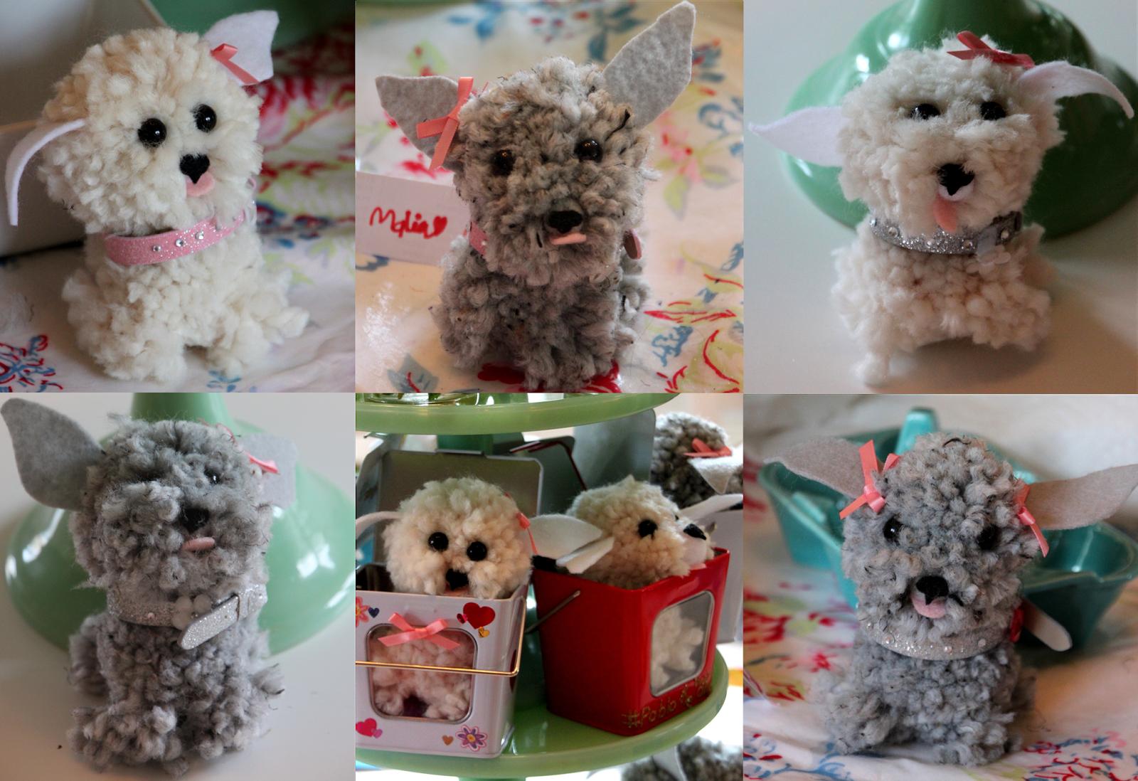 A puppy pom pom birthday party tilly 39 s nest for Pom pom puppy craft