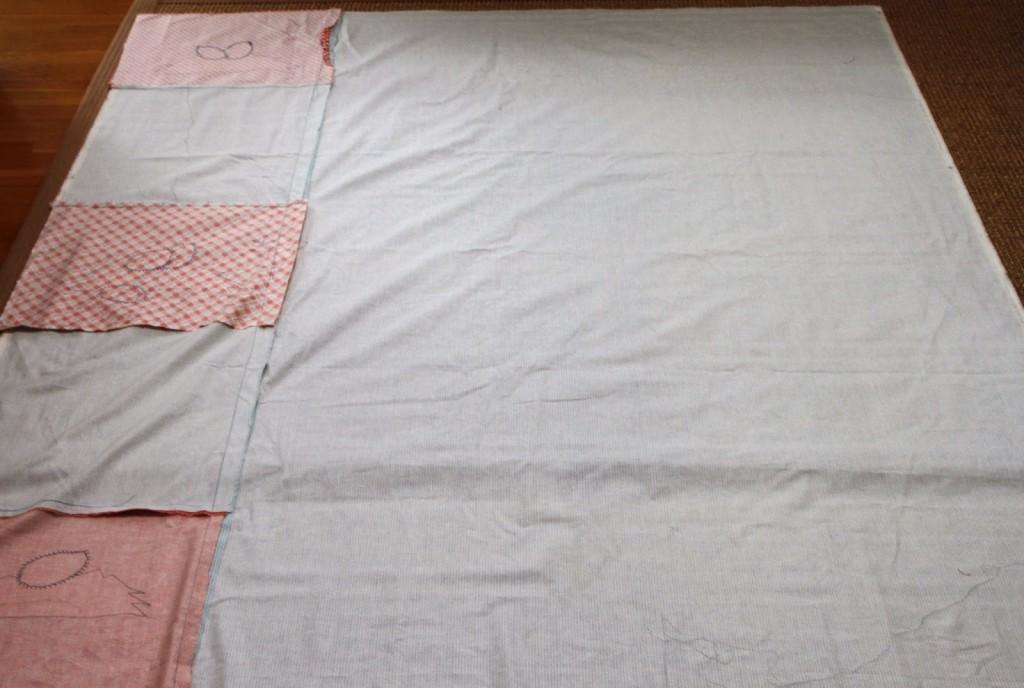 chicken quilt part five final process
