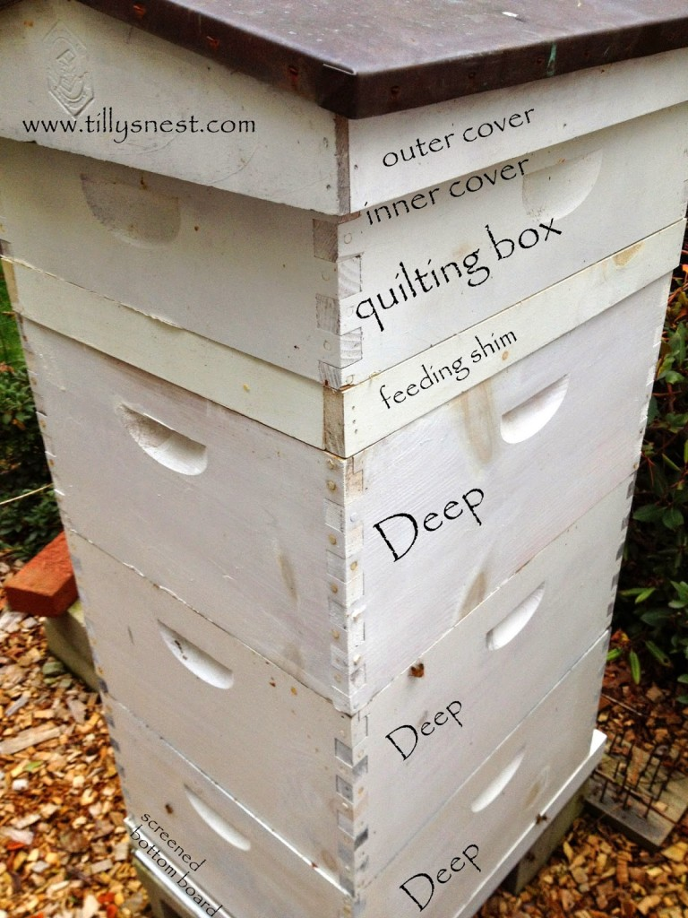 DIY: Winter Beehive Quilting Box | Tilly\'s Nest