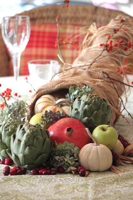 Thanksgiving Cornucopia by Tilly's Nest