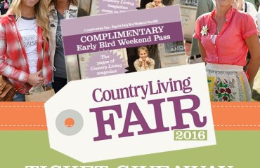 Country Living Fair tickets